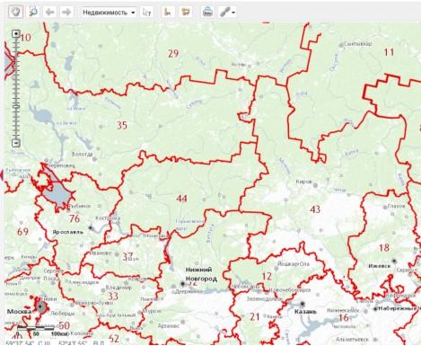 Публичная Кадастровая Карта Кировской Области